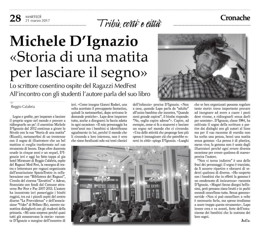 Antircolo Michele D'Ignazio_Storia di una matita