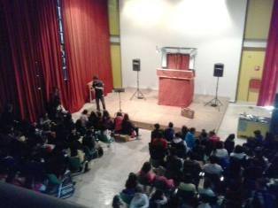 Michele D'Ignazio al Teatro della Città dei Ragazzi