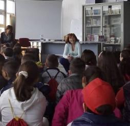 Daniela Palumbo incontra i bambini