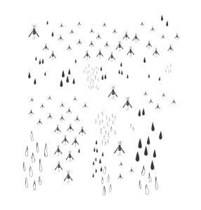 Pioggia e moscerini