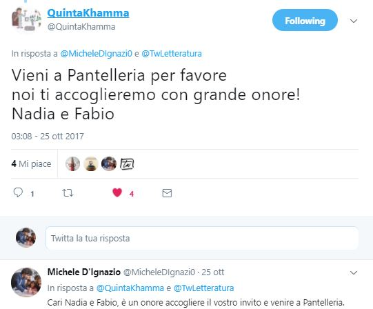 Invito a Pantelleria