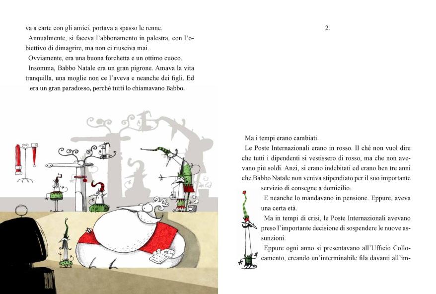 IL secondo lavoro di Babbo Natale (pag.2)