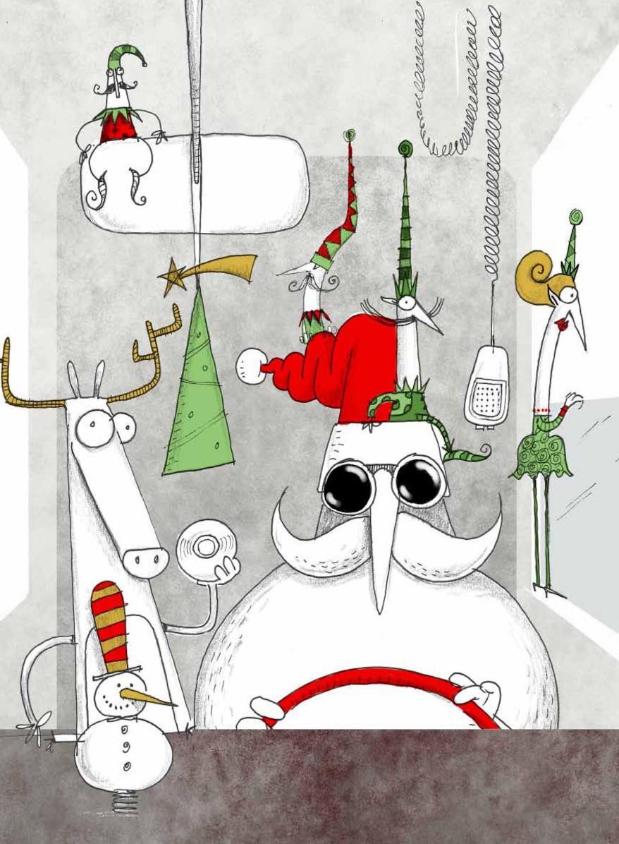 Il secondo lavoro di Babbo Natale (Michele D'Ignazio, Sergio Olivotti)