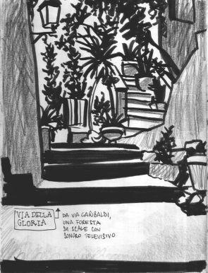 I Vicoli di San Nicola illustrati da Rocco Lombardi