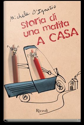 Copertina Storia di una matita. A casa