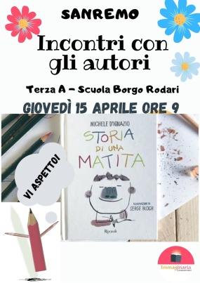 Incontro su Storia di una matita (Sanremo)